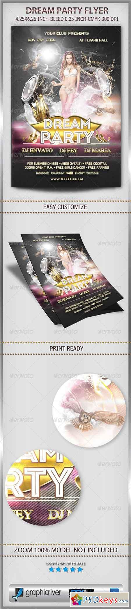 Dream Party Flyer 6035899