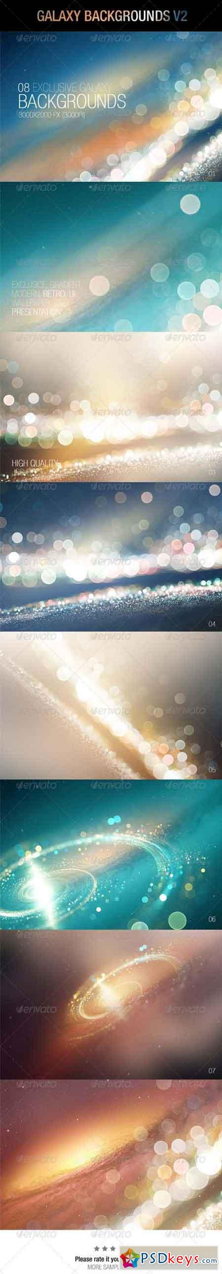 Galaxy Backgrounds V2 6859974