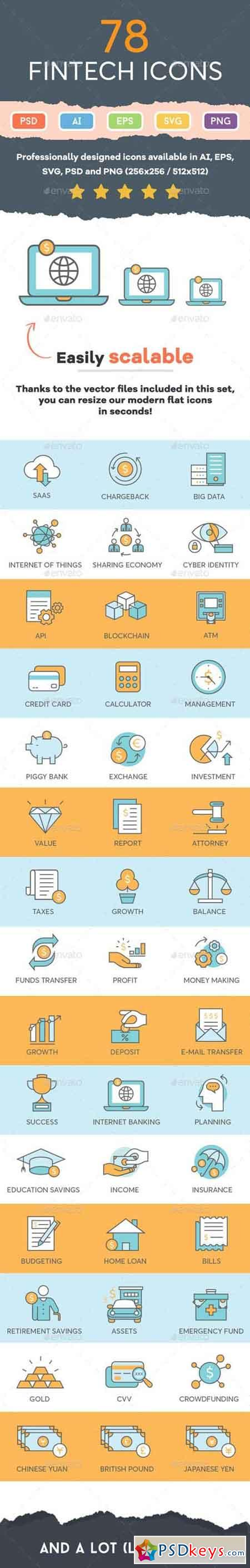 Finance Icons 17253588