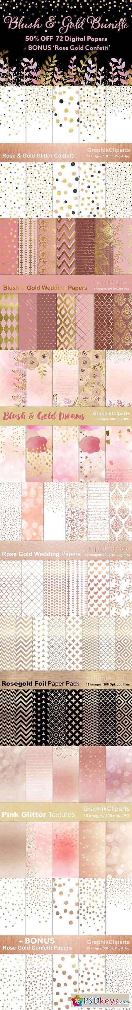 Blush & Gold Bundle 948950