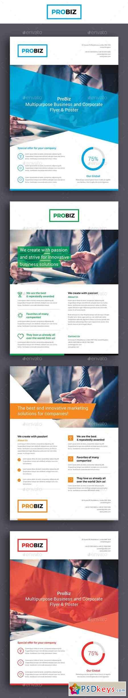 ProBiz – Business and Corporate Flyer 19045696