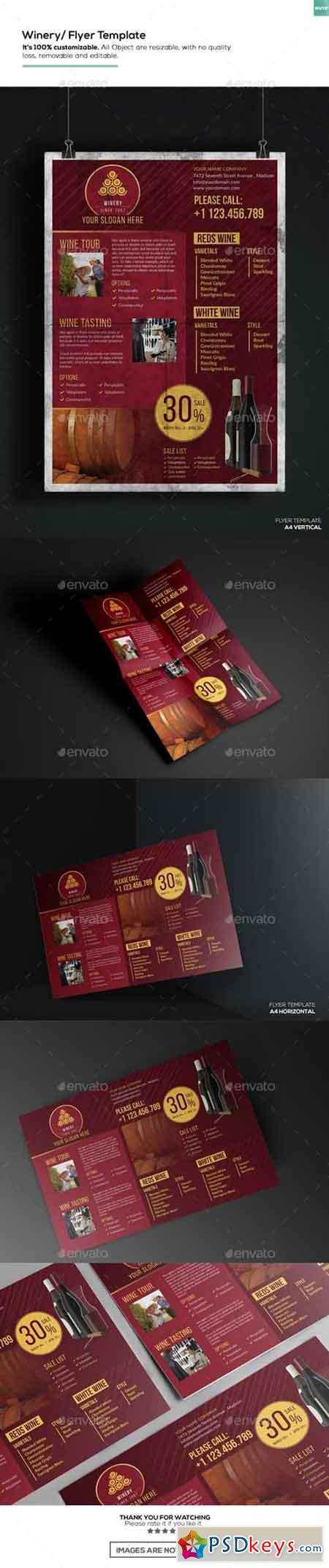 Winery - Flyer Template 15910762