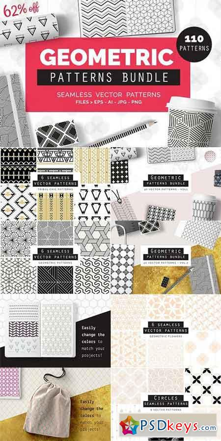 Geometric Patterns BUNDLE 1039059