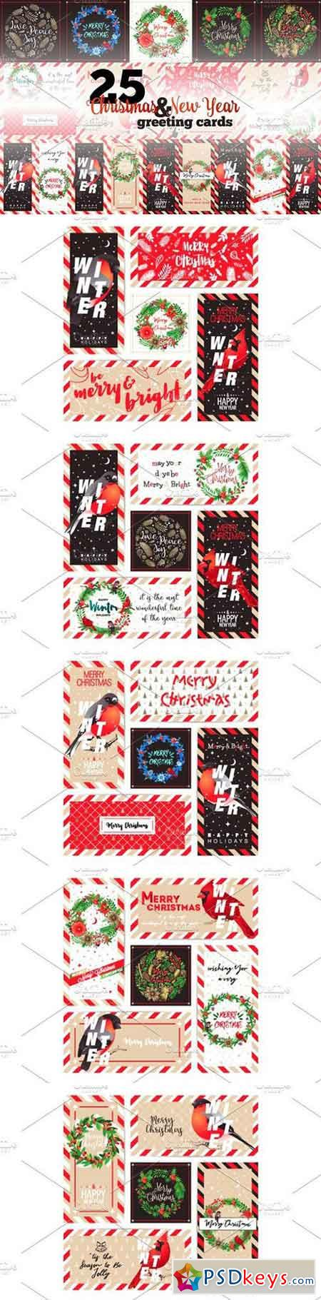 Christmas & New Year Greeting Cards 1134299