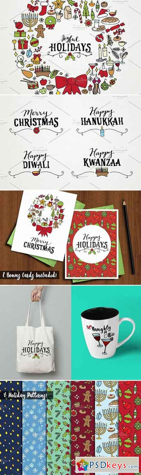 Holiday & Christmas Art Pack 1061333