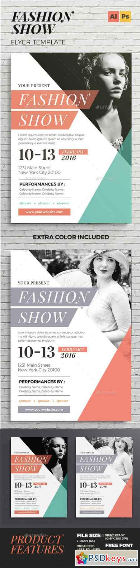 Fashion Show Flyer 14496004