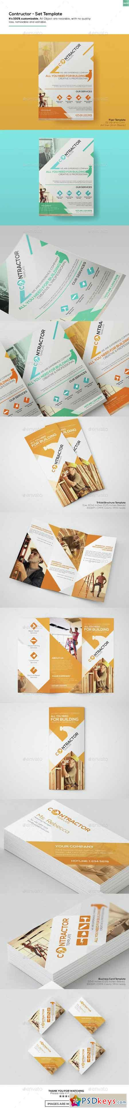 Contractor - Set Templates 15314033