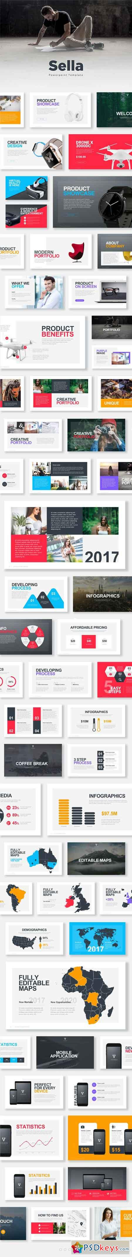 Sella Powerpoint Template 18036459