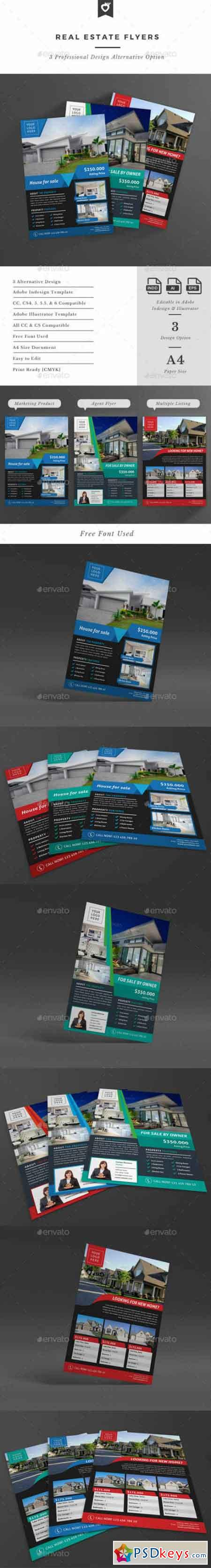 Real Estate Flyers 12727580