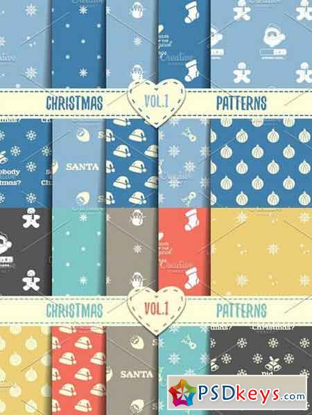 Christmas Seamless Patterns 458120