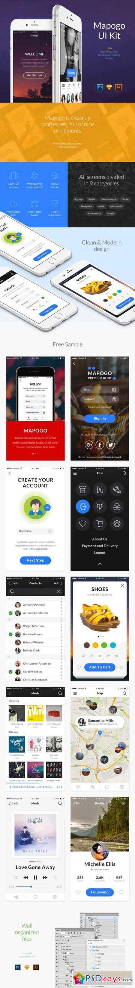 Mapogo UI Kit 760827