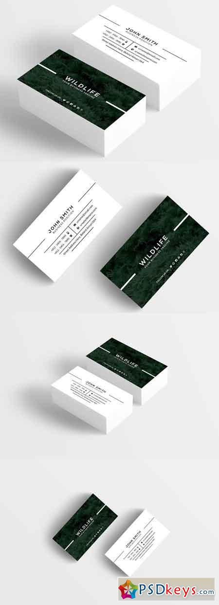 Wildlife Business Card 1116862
