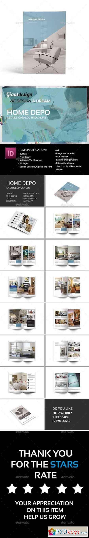 Interior Design Brochure 16420999 » Free Download Photoshop