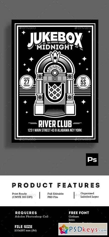 jukebox midnight poster flyer 14971824  u00bb free download