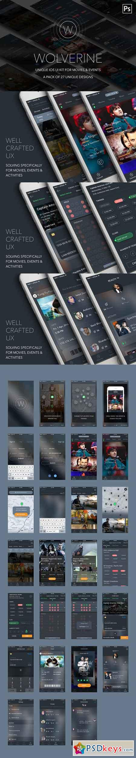 Wolverine IOS UI KIT for activities 684969