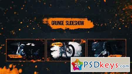 Grunge Slideshow 18296229 - After Effects Projects