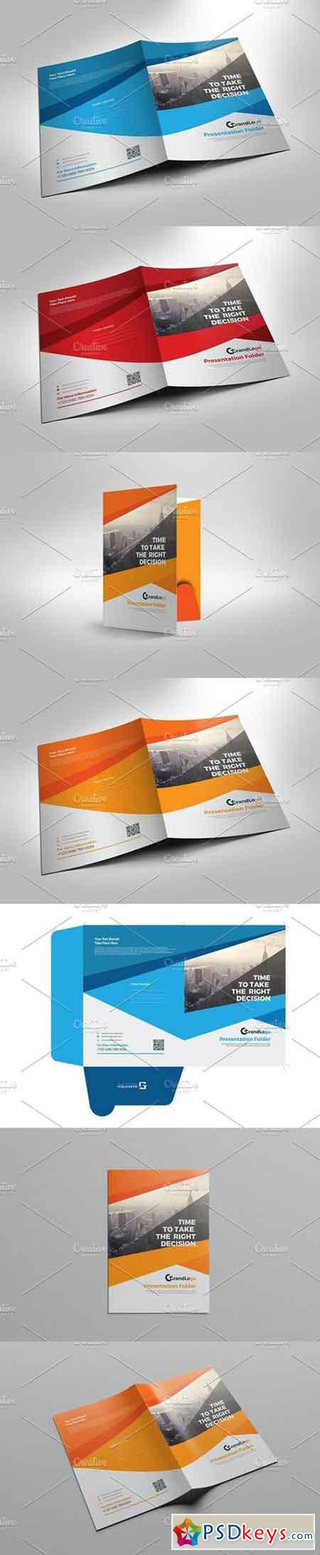 Presentation folder template 1151739 free download for Pocket folder template illustrator