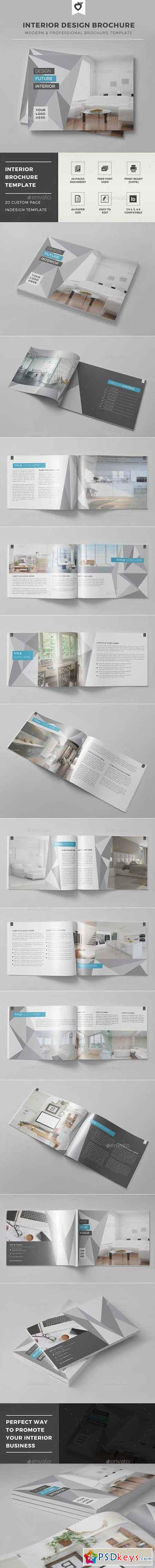 Interior Design Brochure Template 12474610