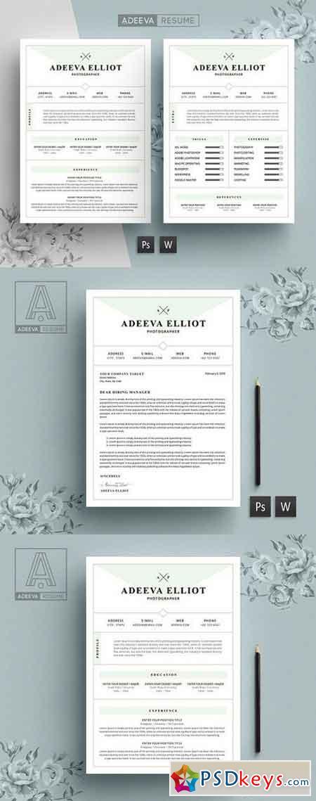 modern resume template elliot 919274  u00bb free download