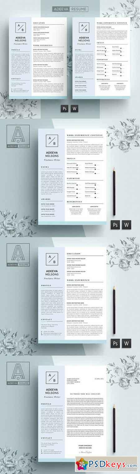 Simple Resume Template Nelson 915176
