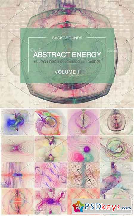 Abstract Energy Backgrounds Vol. 2 1150521