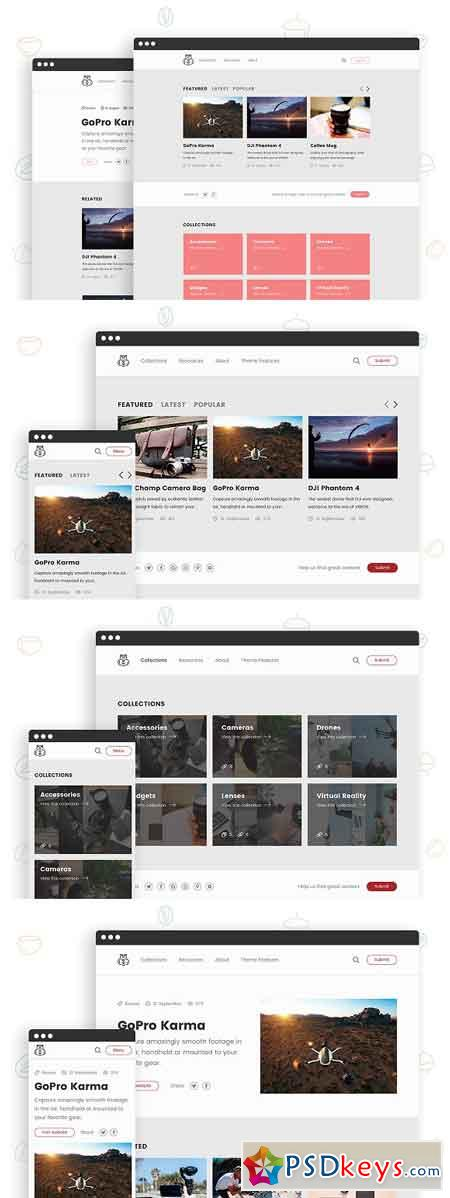 Chipmunk - HTML Theme for Curators 960015