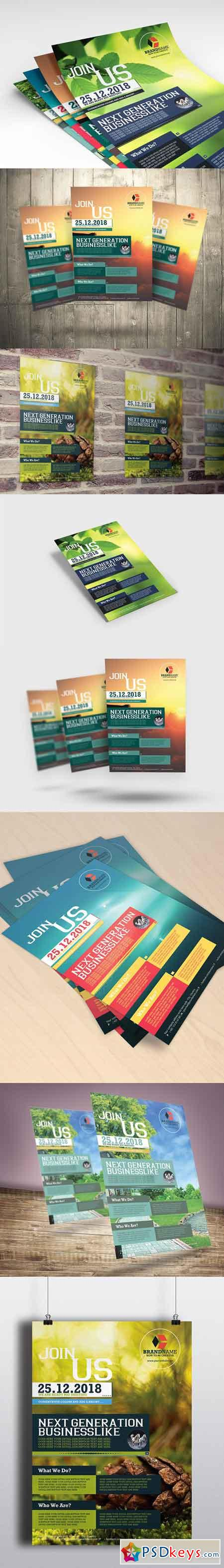 Business Flyers 5 Colors Variation 967221
