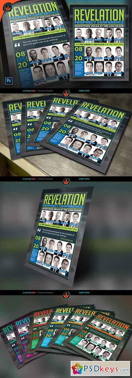 Revelation Prophecy Conference Flyer 968009