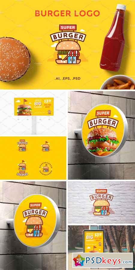 Super Burger Logo 1166933