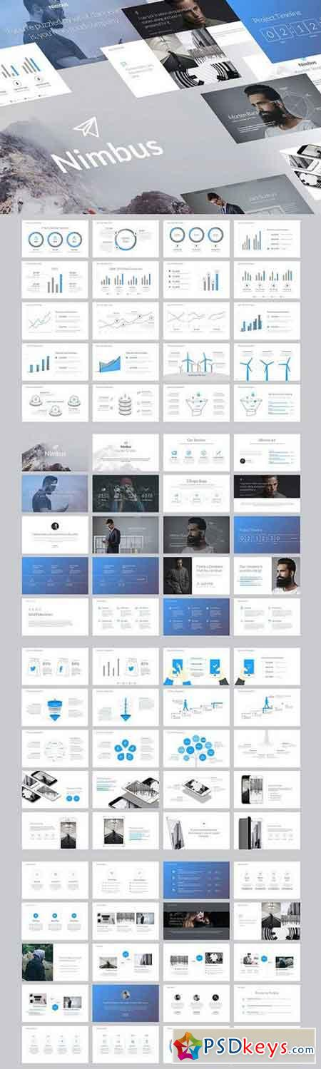 Nimbus - Creative Keynote Template 1141645