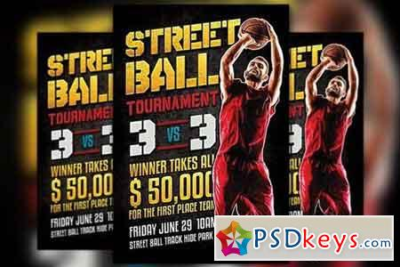 Street Ball Flyer Template 1169173