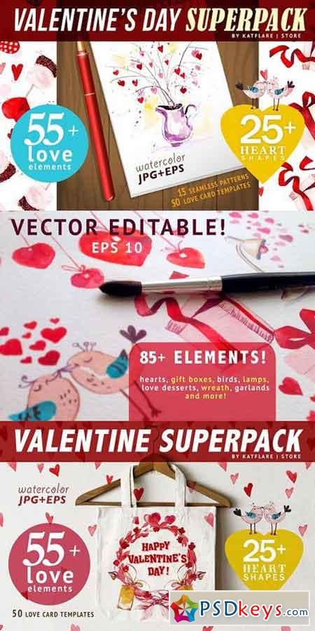 Valentine's day SUPERPACK 1168939