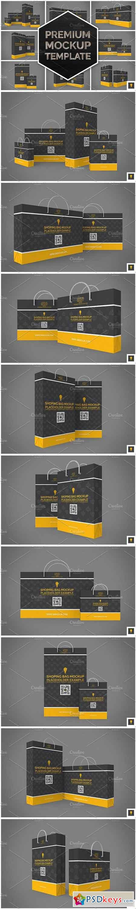 Shopping Bag Mock-up 1151189