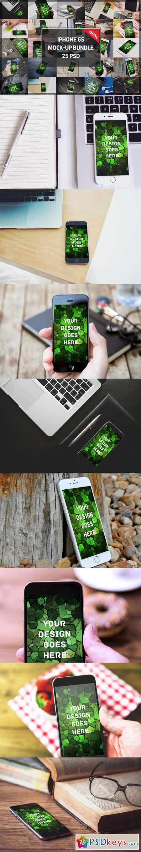 BUNDLE! - iPhone 6S Mock-ups 1093778