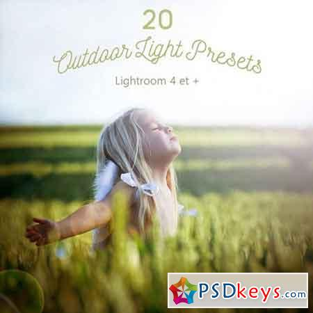Pack 20 LR Presets Outdoor Light 1167974