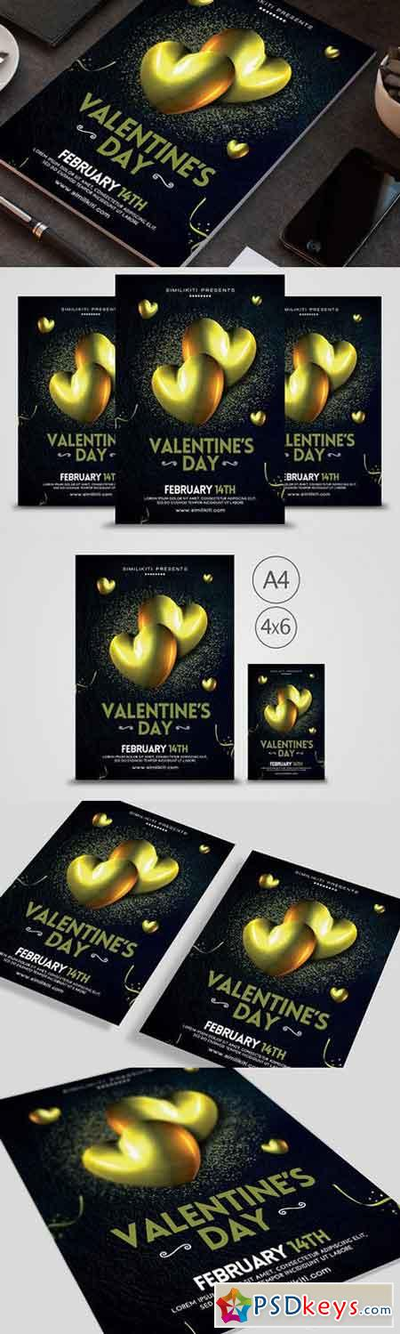 Valentine's Day Flyer 1165531