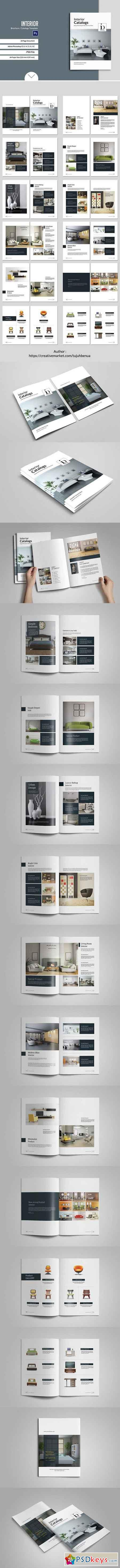 Interior Brochure Catalogs Template 1158047