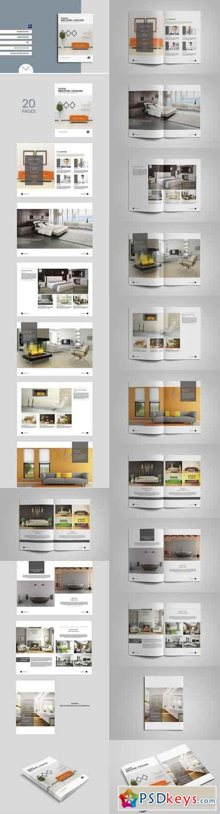 Interior Brochure Catalogs Template 1158057