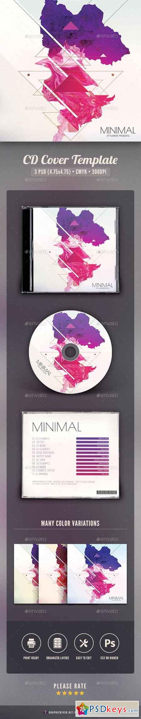 Minimal CD Cover Artwork 16018058