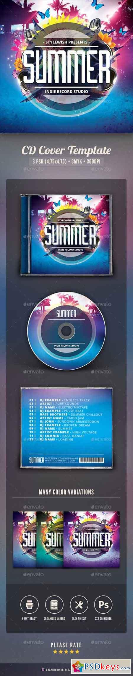 Summer CD Cover Artwork 16043948