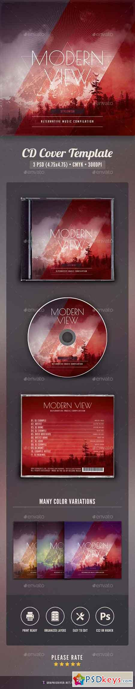 Modern View CD Cover Artwork 16138018