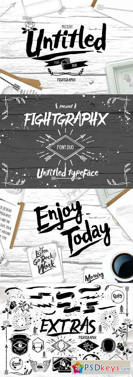 Untitled font duo + extras 966096