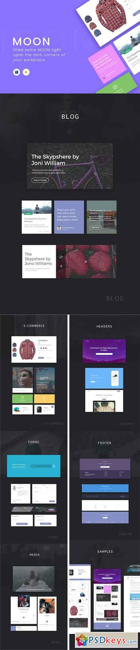 Moon UI Kit 947009