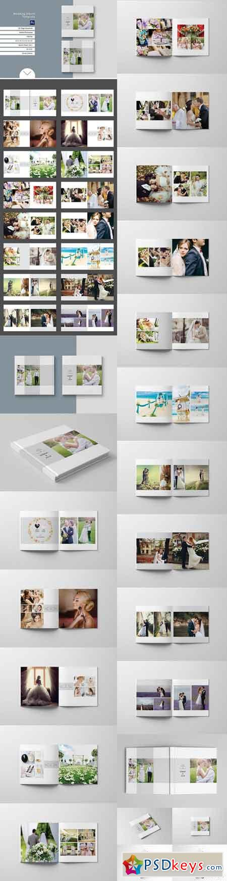 Wedding album template 888911 free download photoshop vector wedding album template 888911 pronofoot35fo Gallery