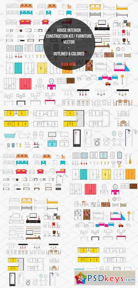 House Interior Construction Kit 1185931