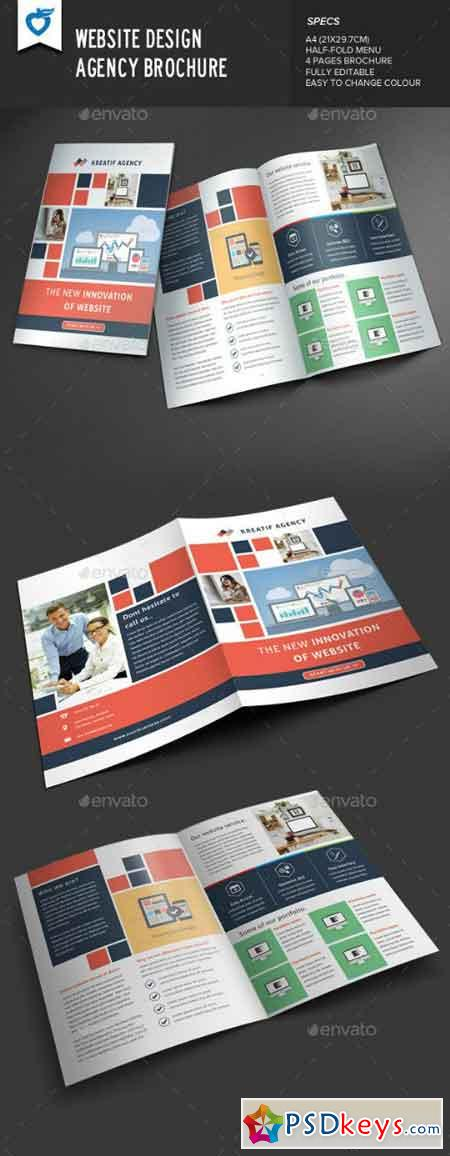 Website Design Agency Brochure 9562526