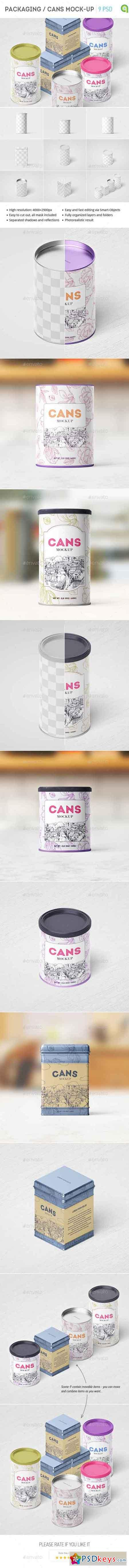 Packaging Can Mockup 15375171