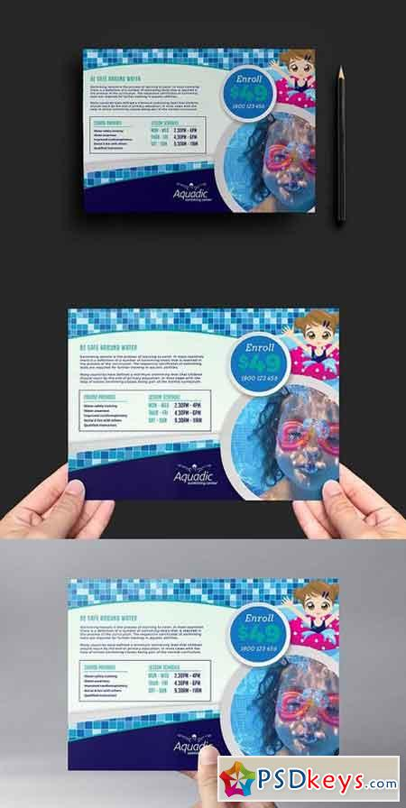 Swimming Pool Flyer Template V2 1173608