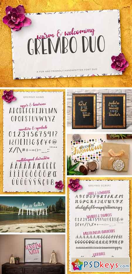 Grembo Font Duo 1189346