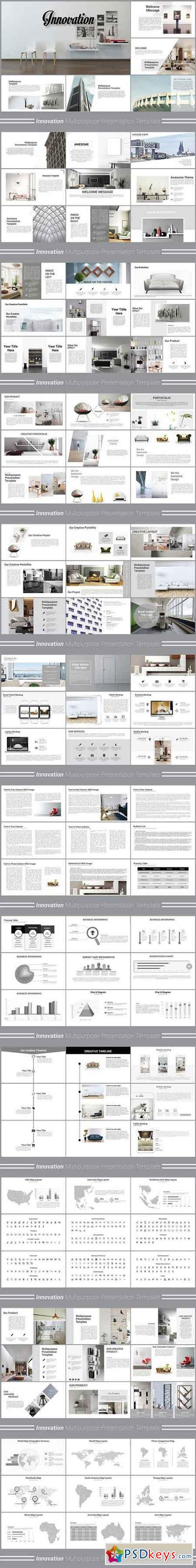 Innovation Powerpoint Template 1200789